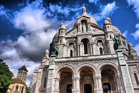 Photo de Basilica de Sacre Coeur (Paris region region)