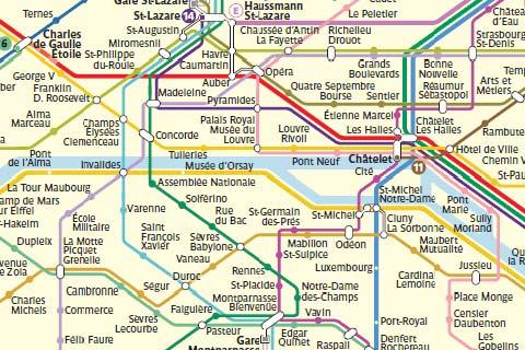 Paris Maps Monuments Arrondissements And Metro In Paris