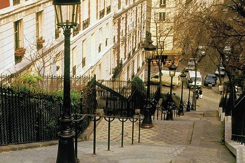 Photo of Montmartre in Paris