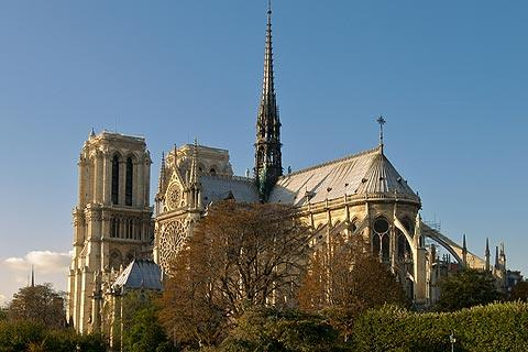 Photo of Notre Dame cathedral in Paris