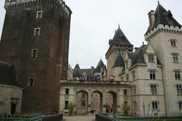 Castle at Pau