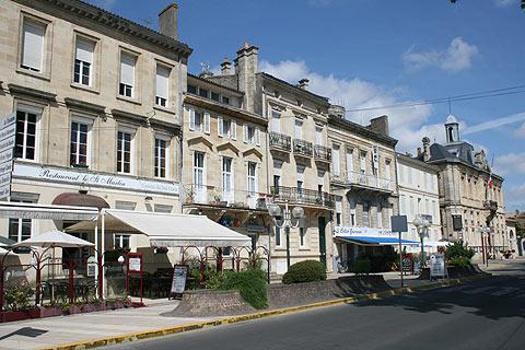 Photo of Pauillac in Medoc (Aquitaine region)