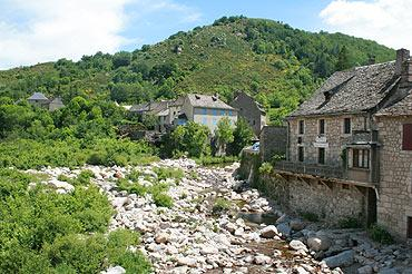 Pont de Montvert in the Cevennes National Parc