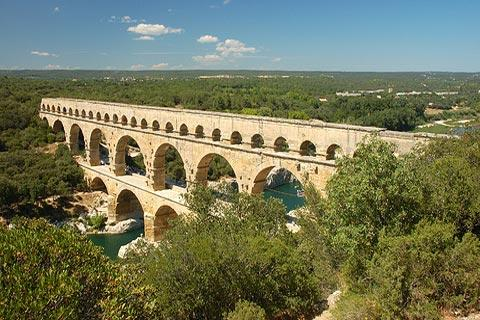 Photo of Pont du Gard (Languedoc-Roussillon region)