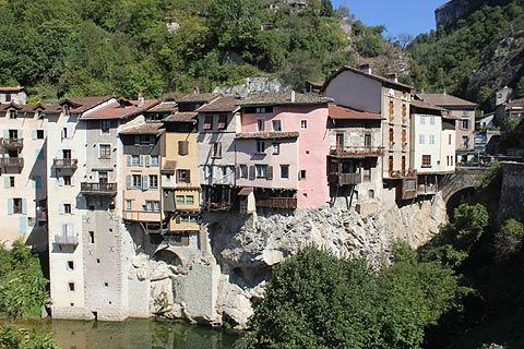 Photo of Pont-en-Royans in Isere