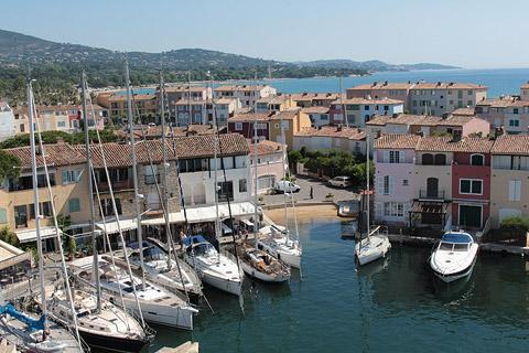 Photo de Port Grimaud en Cote d'Azur (Provence region)