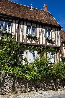 medieval house in Provins
