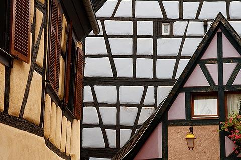 Photo of Ribeauville in Alsace Wine Route (Alsace region)