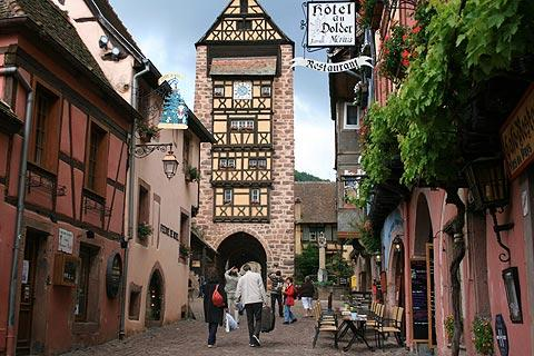 Photo of Riquewihr in Haut-Rhin