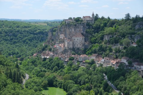 Photo de Rocamadour en Massif Central (Midi-Pyrenees region)