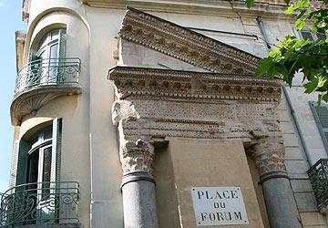 Римский форум (Forum) - достопримечательности Арля