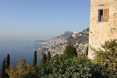 Photo of Roquebrune-Cap-Martin in Cote d'Azur (Provence region)