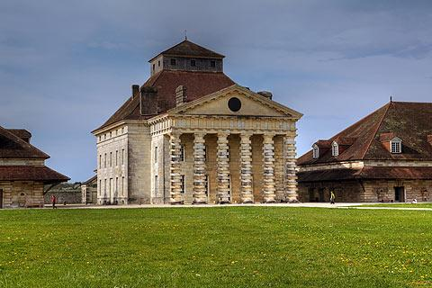 Photo de Saline Royale d'Arc-et-Senans (Franche-Comte region)