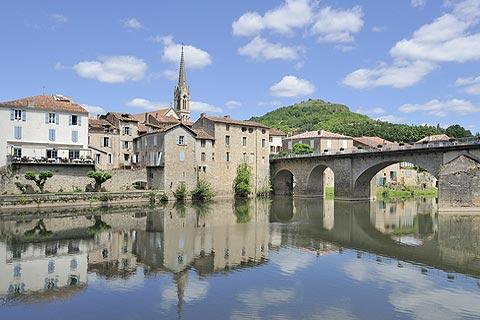 Photo of Saint-Antonin-Noble-Val (Midi-Pyrenees region)