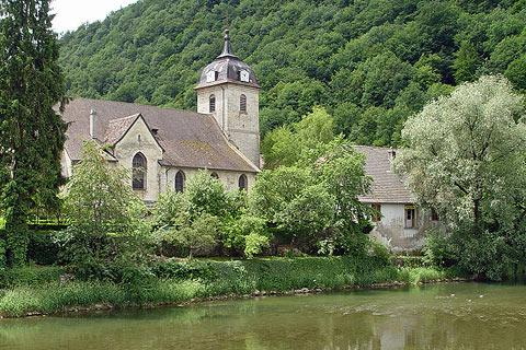 Photo of Cour-Saint-Maurice in Doubs