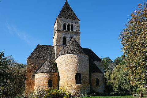 Photo of Saint-Leon-sur-Vezere in Perigord Noir (Aquitaine region)