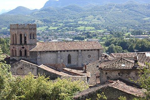 Photo de Saint-Lizier (Midi-Pyrenees region)