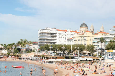 French Beaches Mediterranean French Riviera Beaches And