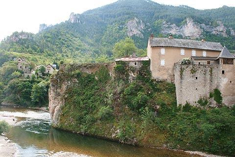 Photo of Sainte-Enimie in Lozere