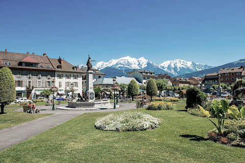 Photo of Nancy-sur-Cluses in Haute-Savoie