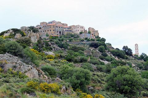 Photo of Speloncato in Corsica