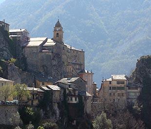 Vue du Saorge village