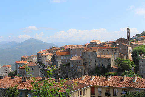 Photo of Serra-di-Scopamène in Corsica