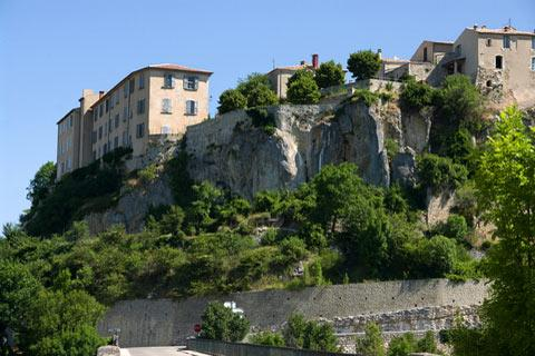Photo of Monieux in Vaucluse
