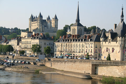 Photo of Saumur in Maine-et-Loire