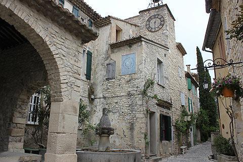 Sablet France Vaucluse ProvenceAlpesCotedAzur tourism