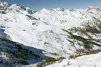Slopes in winter