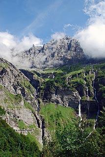 Montagnes à Sixt-Fer-à-Cheval
