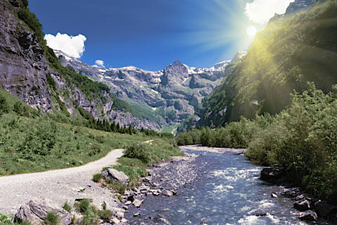 Photo of Samoens in Haute-Savoie