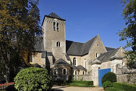 Photo of Solesmes in Sarthe