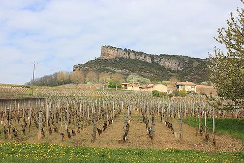Photo of Solutre-Pouilly in Saone-et-Loire
