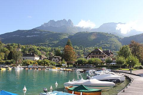 Photo of Talloires in Haute-Savoie