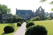 Beauport Abbey Gardens village