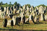 Megaliths at Carnac, Brittany