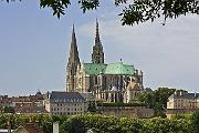 Chartres Cathedral village
