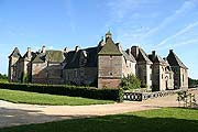 Carrouges castle in Normandy