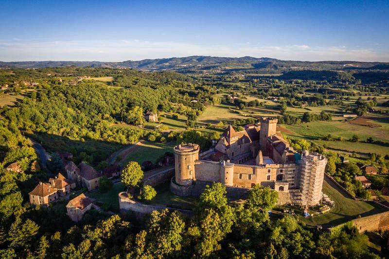 photo of Chateau de Castelnau-Bretenoux