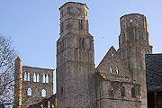 visit Jumieges Abbey, France