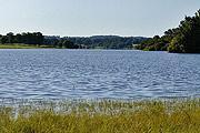 Lac de lavaud in Perigord Limousin Regional Natural Parc