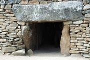Locmariaquer dolmen entrance