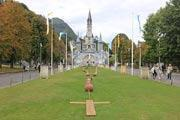 Lourdes, pilgrimage centre in France