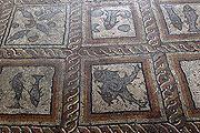 Montcaret roman villa mosaics