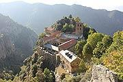Saint-Martin Abbey on mount Canigou