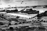 photo of Normandy landing beaches