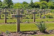 Thiepval cimetière près de Péronne
