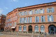 red-brick architecture in Toulouse